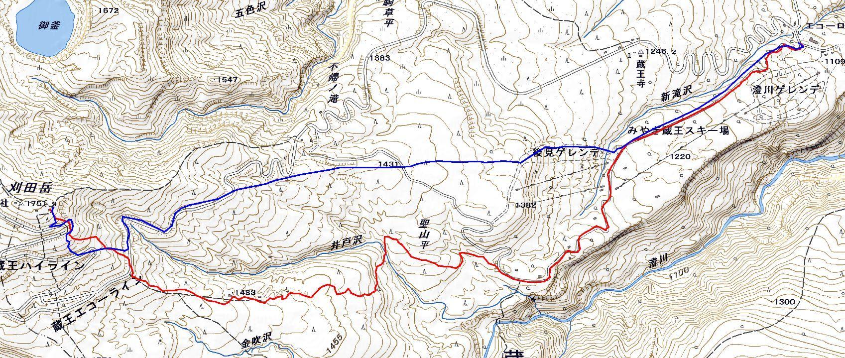 蔵王・刈田岳 ~ 2019年3月30日_f0170180_22263276.jpg