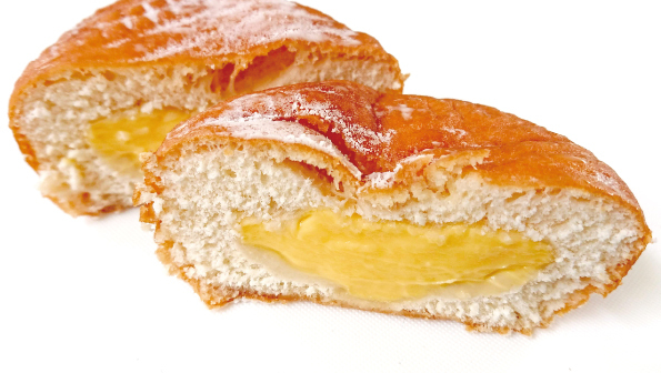 【袋ドーナツ】日糧製パン「クリームドーナツ」【しっとりもちもち】_d0272182_16235517.jpg