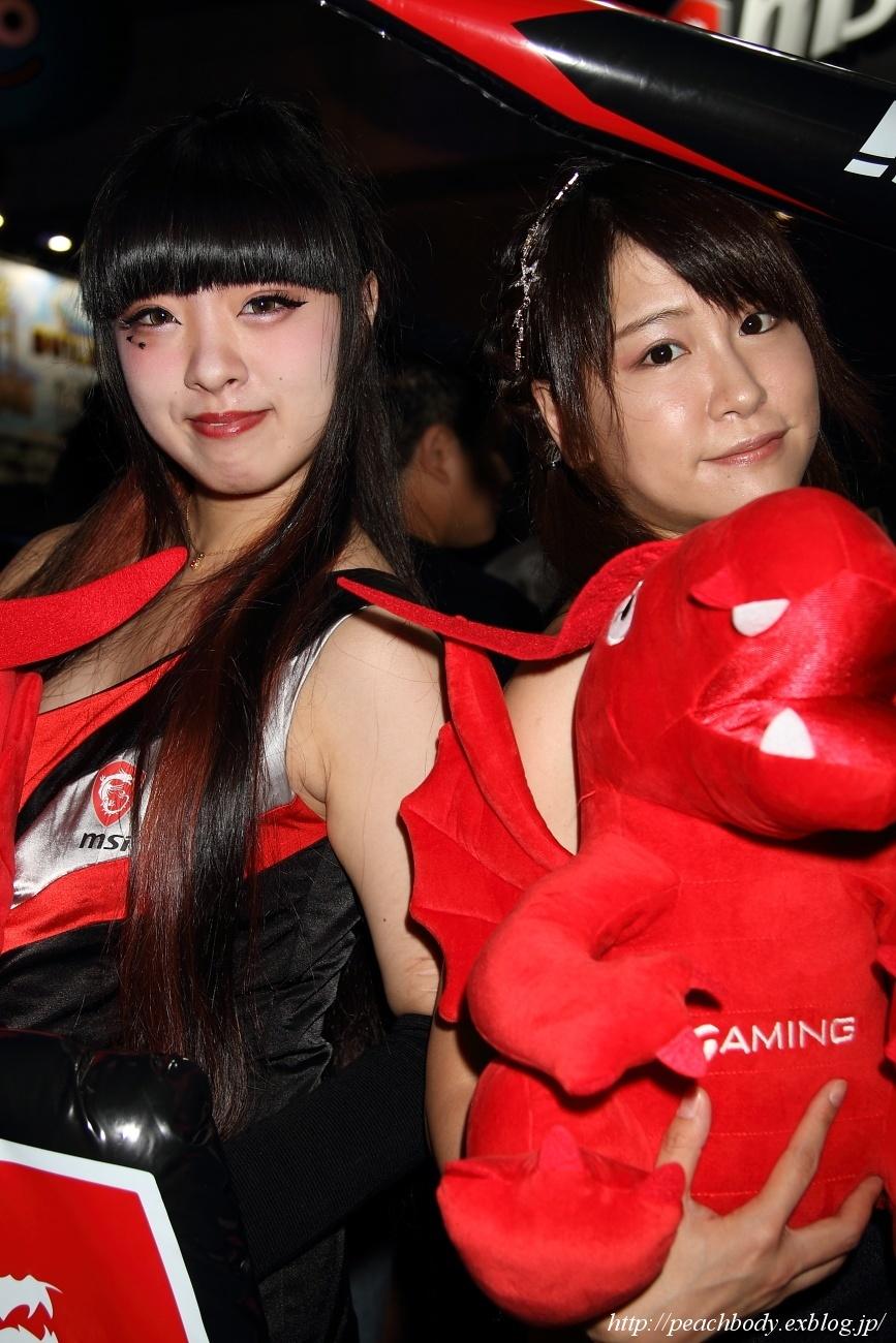 少女 零 さん(MICRO-STAR INTERNATIONAL ブース)_c0215885_23215453.jpg