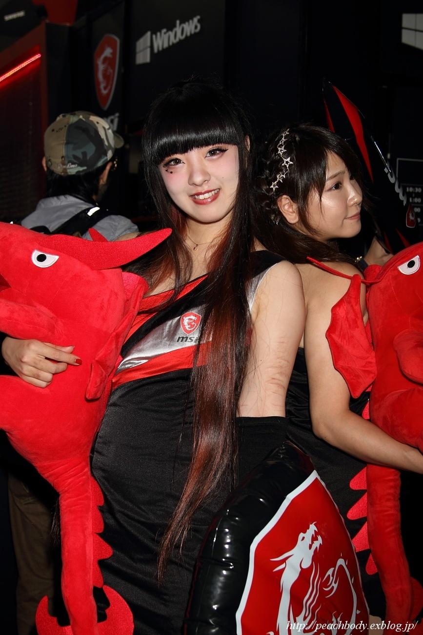 少女 零 さん(MICRO-STAR INTERNATIONAL ブース)_c0215885_23215932.jpg
