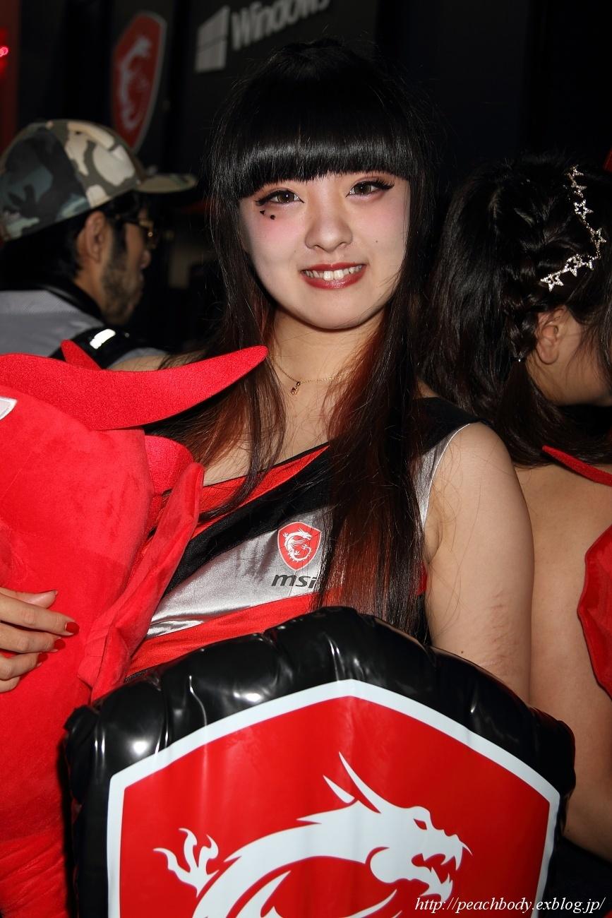 少女 零 さん(MICRO-STAR INTERNATIONAL ブース)_c0215885_23220497.jpg