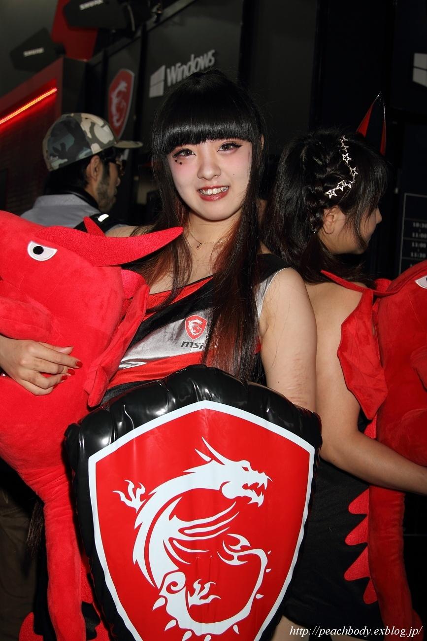 少女 零 さん(MICRO-STAR INTERNATIONAL ブース)_c0215885_23220712.jpg