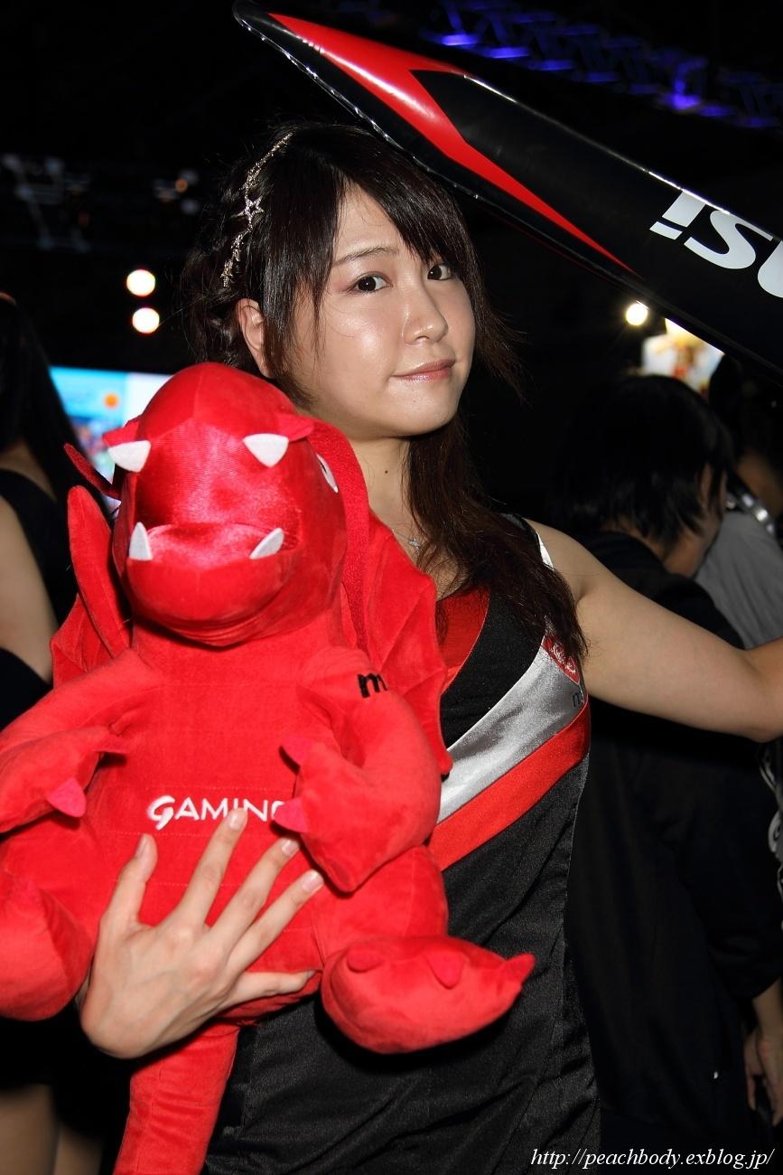 少女 零 さん(MICRO-STAR INTERNATIONAL ブース)_c0215885_23221322.jpg