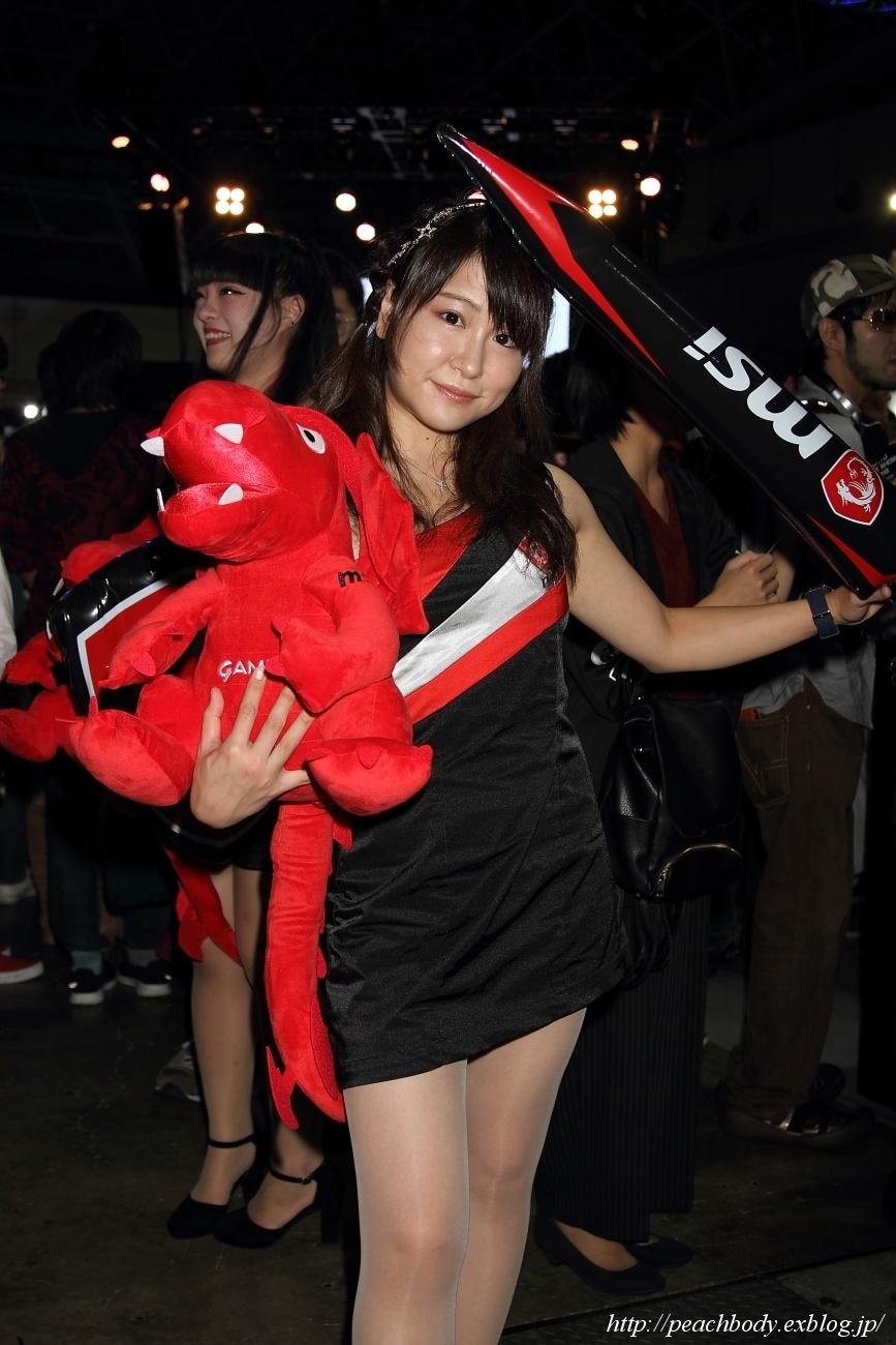 少女 零 さん(MICRO-STAR INTERNATIONAL ブース)_c0215885_23221646.jpg