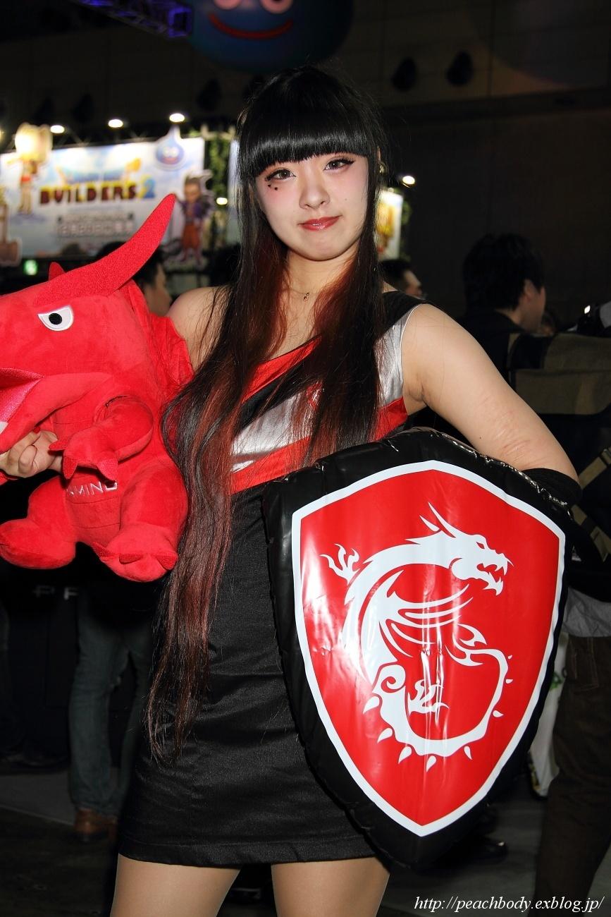 少女 零 さん(MICRO-STAR INTERNATIONAL ブース)_c0215885_23222979.jpg