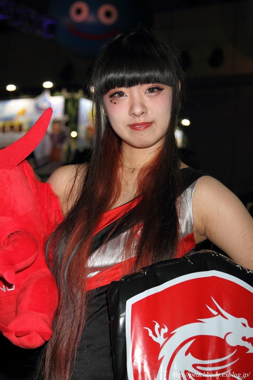 少女 零 さん(MICRO-STAR INTERNATIONAL ブース)_c0215885_23223397.jpg
