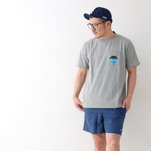 KAVU [カブー] Mountein Logo Tee [19820422] マウンテンロゴTシャツ・半袖Tシャツ・ポケットTシャツ・ポケT MEN\'S_f0051306_16081417.jpg