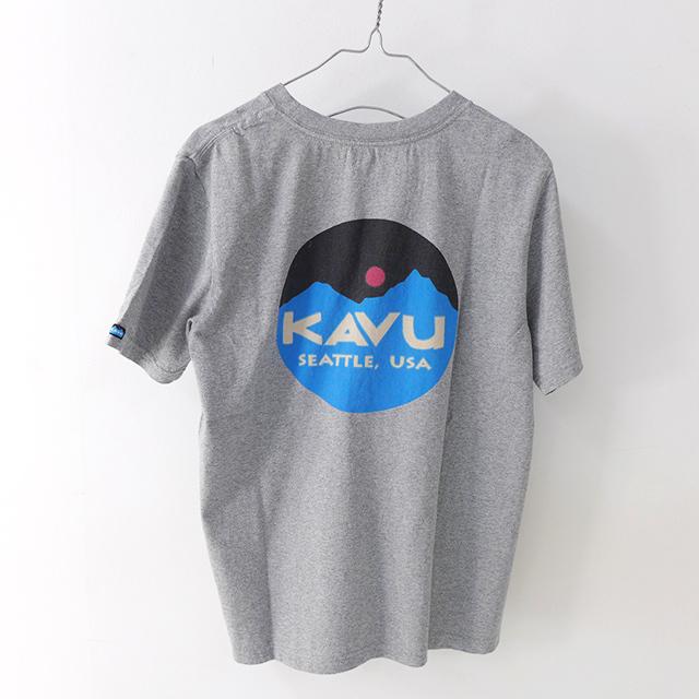 KAVU [カブー] Mountein Logo Tee [19820422] マウンテンロゴTシャツ・半袖Tシャツ・ポケットTシャツ・ポケT MEN\'S_f0051306_16081419.jpg