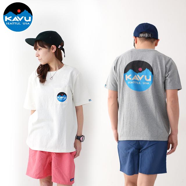KAVU [カブー] Mountein Logo Tee [19820422] マウンテンロゴTシャツ・半袖Tシャツ・ポケットTシャツ・ポケT MEN\'S_f0051306_16081432.jpg