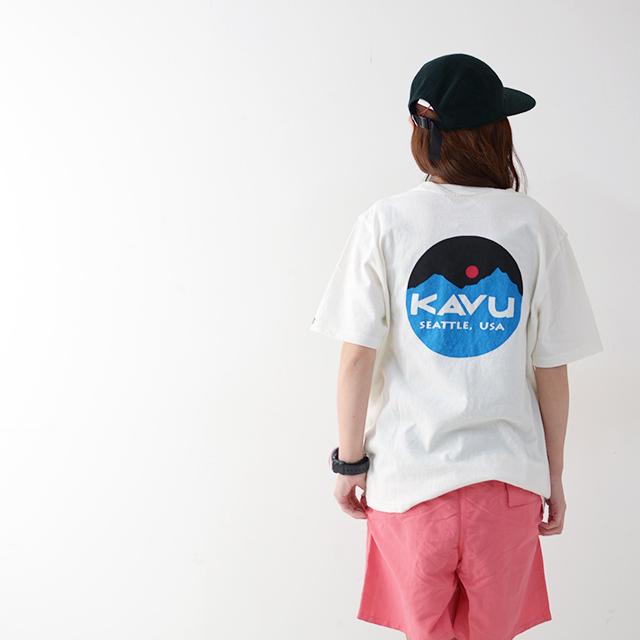 KAVU [カブー] Mountein Logo Tee [19820422] マウンテンロゴTシャツ・半袖Tシャツ・ポケットTシャツ・ポケT MEN\'S_f0051306_16081434.jpg