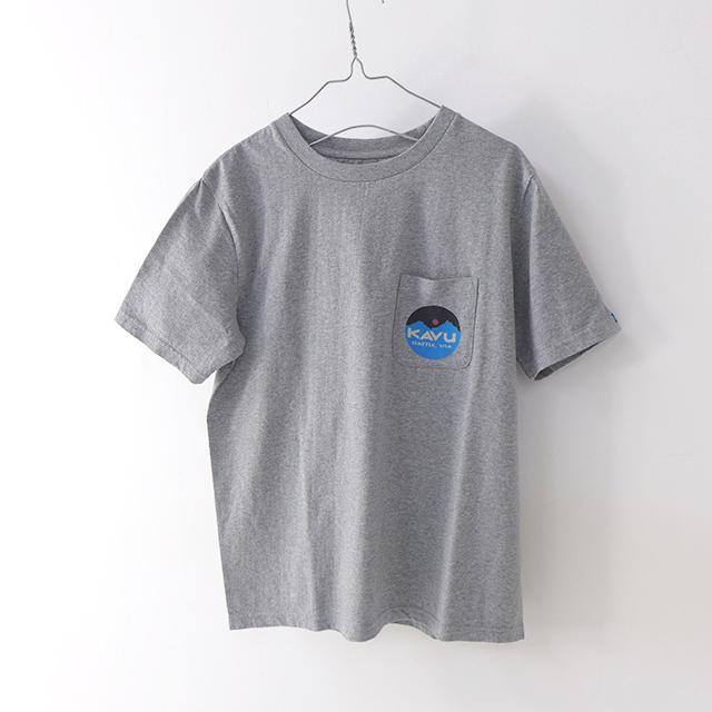 KAVU [カブー] Mountein Logo Tee [19820422] マウンテンロゴTシャツ・半袖Tシャツ・ポケットTシャツ・ポケT MEN\'S_f0051306_16081498.jpg