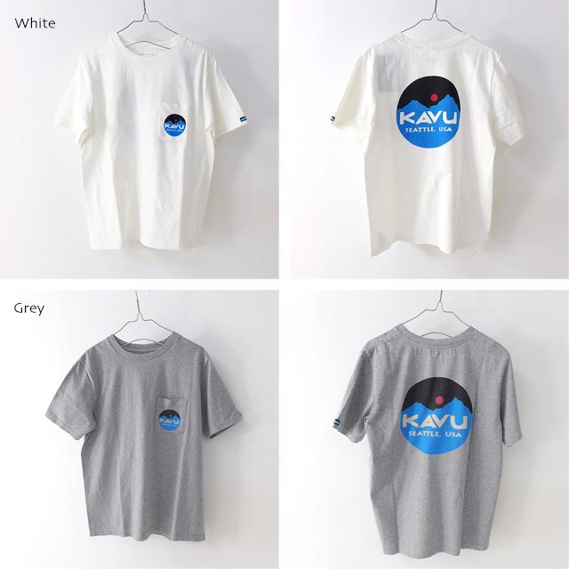 KAVU [カブー] Mountein Logo Tee [19820422] マウンテンロゴTシャツ・半袖Tシャツ・ポケットTシャツ・ポケT MEN\'S_f0051306_16081543.jpg