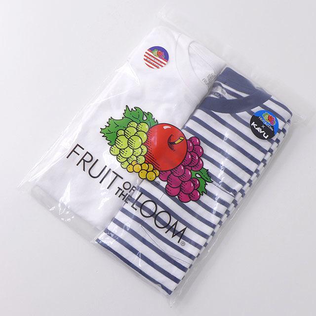 KAVU [カブー] Pack Tee [19821075] パックTシャツ・無地とボーダー2枚組・半袖Tシャツ・ポケットTシャツ・ポケT・MEN\'S _f0051306_16112788.jpg