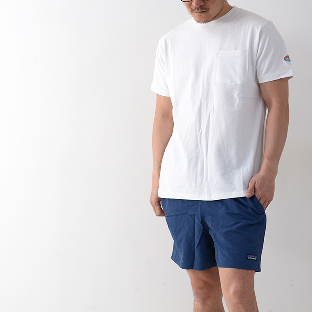 KAVU [カブー] Pack Tee [19821075] パックTシャツ・無地とボーダー2枚組・半袖Tシャツ・ポケットTシャツ・ポケT・MEN\'S _f0051306_16113011.jpg