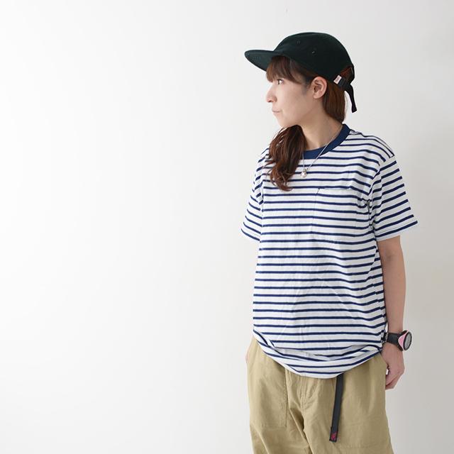 KAVU [カブー] Pack Tee [19821075] パックTシャツ・無地とボーダー2枚組・半袖Tシャツ・ポケットTシャツ・ポケT・MEN\'S _f0051306_16114236.jpg