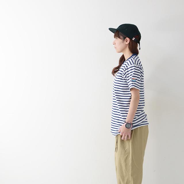 KAVU [カブー] Pack Tee [19821075] パックTシャツ・無地とボーダー2枚組・半袖Tシャツ・ポケットTシャツ・ポケT・MEN\'S _f0051306_16114890.jpg