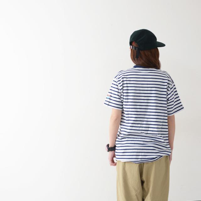 KAVU [カブー] Pack Tee [19821075] パックTシャツ・無地とボーダー2枚組・半袖Tシャツ・ポケットTシャツ・ポケT・MEN\'S _f0051306_16115126.jpg