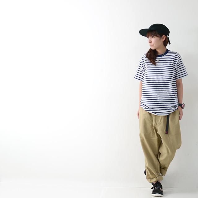 KAVU [カブー] Pack Tee [19821075] パックTシャツ・無地とボーダー2枚組・半袖Tシャツ・ポケットTシャツ・ポケT・MEN\'S _f0051306_16120329.jpg