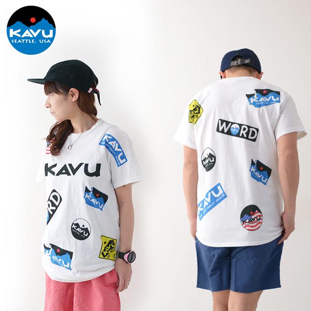 KAVU [カブー] Overallprint Tee [19821028] オーバーオールプリントTシャツ・半袖Tシャツ・MEN\'S_f0051306_17215013.jpg
