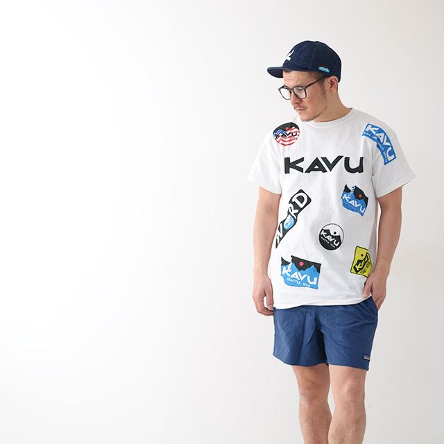 KAVU [カブー] Overallprint Tee [19821028] オーバーオールプリントTシャツ・半袖Tシャツ・MEN\'S_f0051306_17215027.jpg