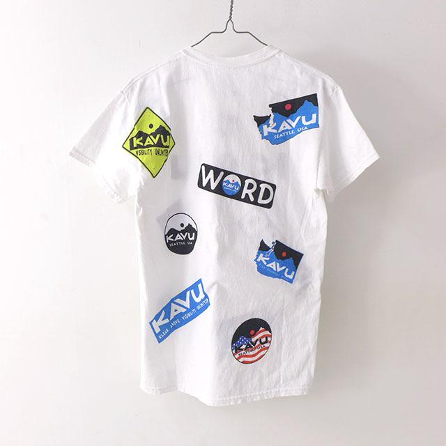 KAVU [カブー] Overallprint Tee [19821028] オーバーオールプリントTシャツ・半袖Tシャツ・MEN\'S_f0051306_17215092.jpg