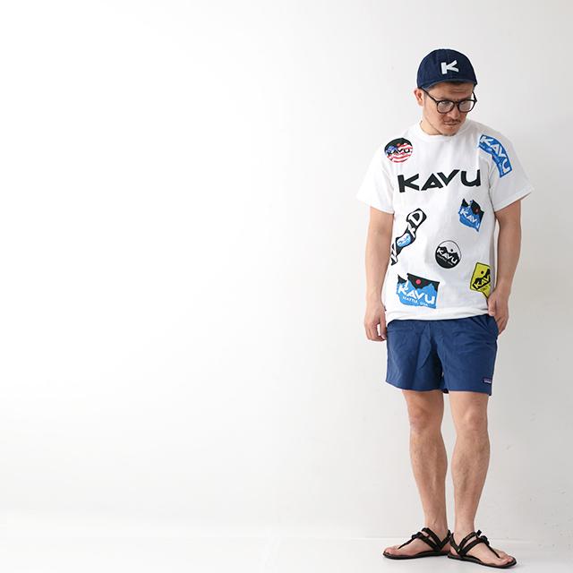 KAVU [カブー] Overallprint Tee [19821028] オーバーオールプリントTシャツ・半袖Tシャツ・MEN\'S_f0051306_17215124.jpg