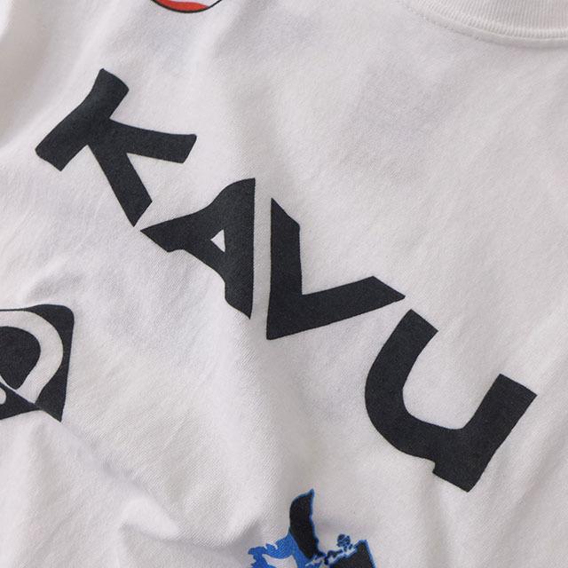 KAVU [カブー] Overallprint Tee [19821028] オーバーオールプリントTシャツ・半袖Tシャツ・MEN\'S_f0051306_17215140.jpg