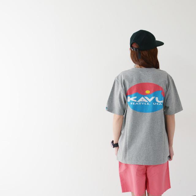 KAVU [カブー] Surf Logo Tee [19820423] サーフロゴTシャツ・半袖Tシャツ・ポケT・ポケットTシャツ MEN\'S_f0051306_17262101.jpg
