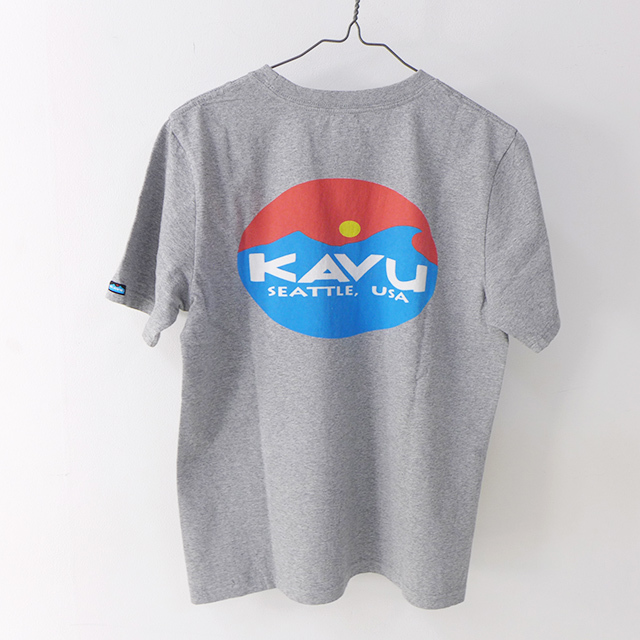 KAVU [カブー] Surf Logo Tee [19820423] サーフロゴTシャツ・半袖Tシャツ・ポケT・ポケットTシャツ MEN\'S_f0051306_17262117.jpg