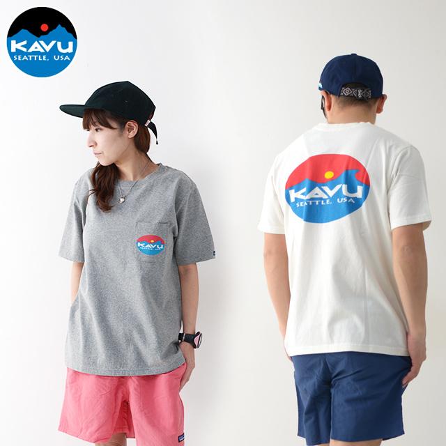 KAVU [カブー] Surf Logo Tee [19820423] サーフロゴTシャツ・半袖Tシャツ・ポケT・ポケットTシャツ MEN\'S_f0051306_17262176.jpg