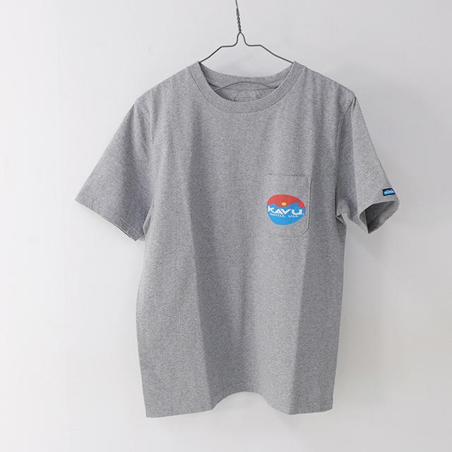 KAVU [カブー] Surf Logo Tee [19820423] サーフロゴTシャツ・半袖Tシャツ・ポケT・ポケットTシャツ MEN\'S_f0051306_17262177.jpg