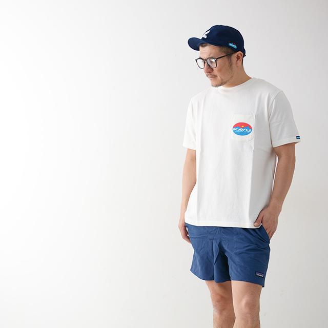 KAVU [カブー] Surf Logo Tee [19820423] サーフロゴTシャツ・半袖Tシャツ・ポケT・ポケットTシャツ MEN\'S_f0051306_17262178.jpg