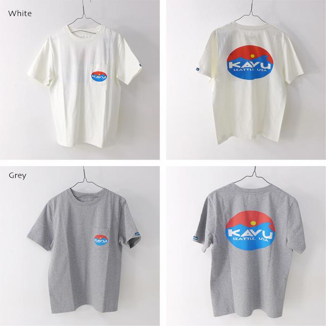 KAVU [カブー] Surf Logo Tee [19820423] サーフロゴTシャツ・半袖Tシャツ・ポケT・ポケットTシャツ MEN\'S_f0051306_17262298.jpg