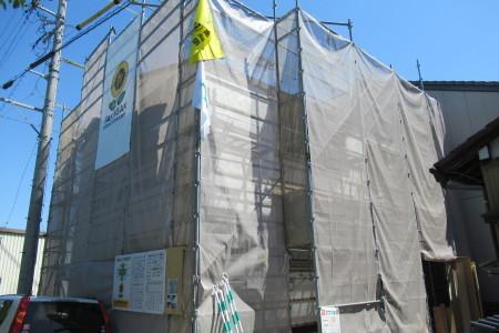 「東町の家」フローリング張り_b0179213_18361921.jpg