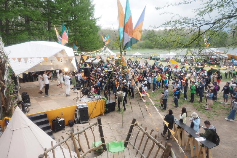 【Photoレポート】よなよなエールの超宴 in 新緑の北軽井沢_b0008655_20591316.jpg