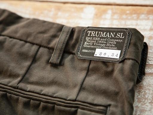 """DALEESより\""""Truman SL\""""トラウザースのご紹介です!!_d0160378_18295719.jpg"""