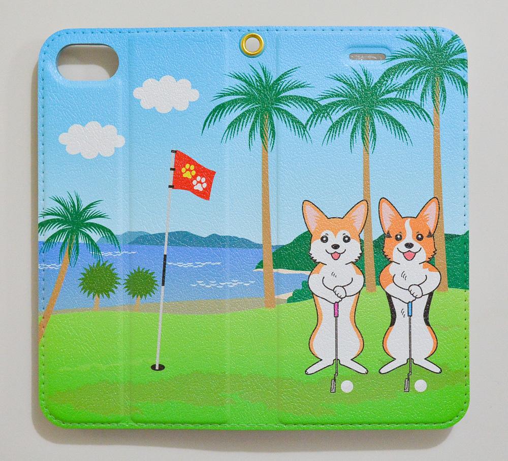 ひまわりちゃん・夏衣くん 手帳型スマホケース_d0102523_11145593.jpg