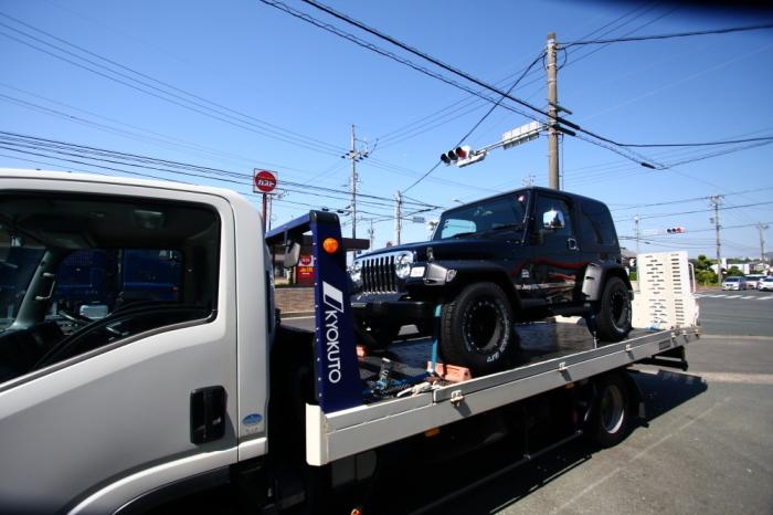 愛知県へ ブラックTJサハラご納車完了いたしました_f0105425_18363945.jpg