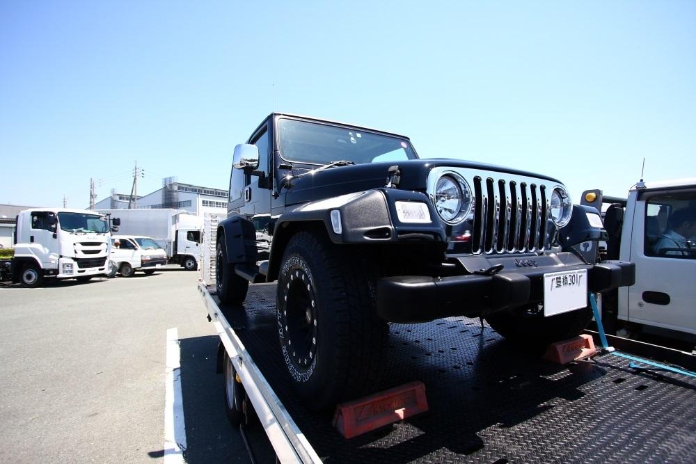 愛知県へ ブラックTJサハラご納車完了いたしました_f0105425_18364370.jpg