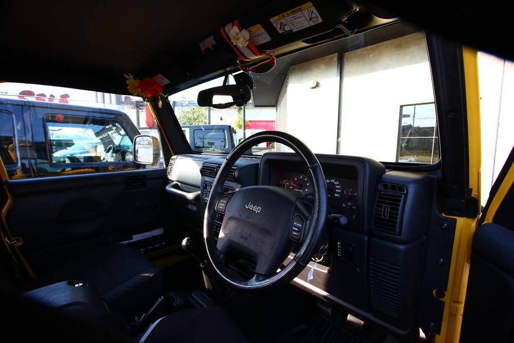 愛知県へ ブラックTJサハラご納車完了いたしました_f0105425_18454369.jpg