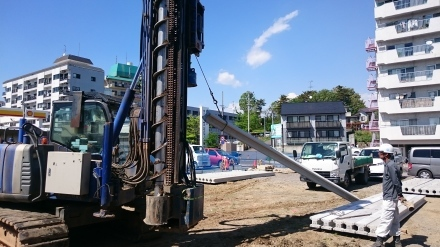 『風致地区の店舗併用住宅』工事開始しました。_e0197748_21421974.jpg