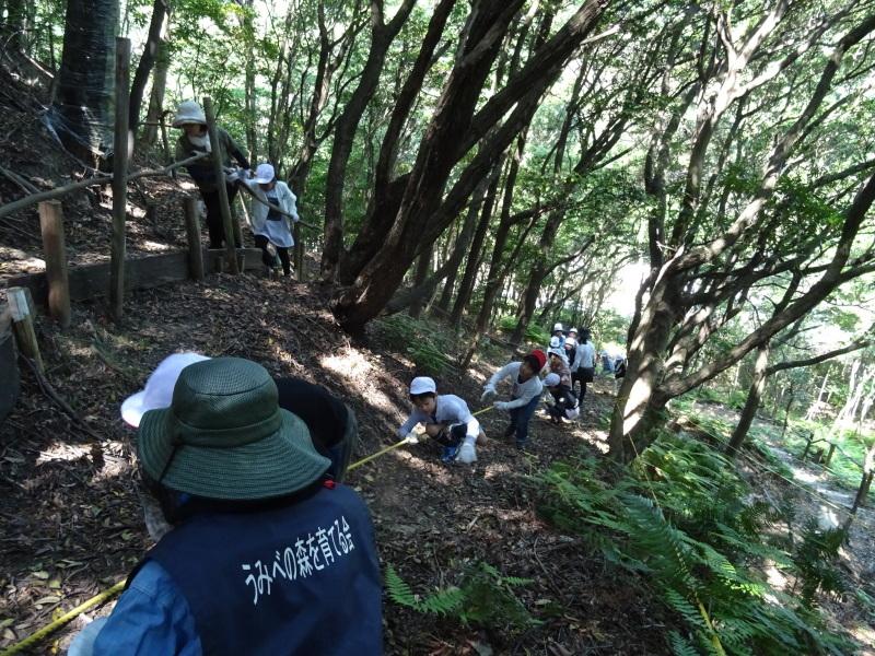 和歌山市立楠見西小学校:3・4年生遠足「うみべの森探検」_c0108460_16315265.jpg