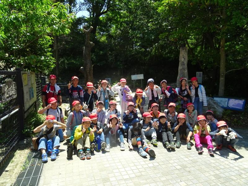 和歌山市立楠見西小学校:3・4年生遠足「うみべの森探検」_c0108460_16491374.jpg