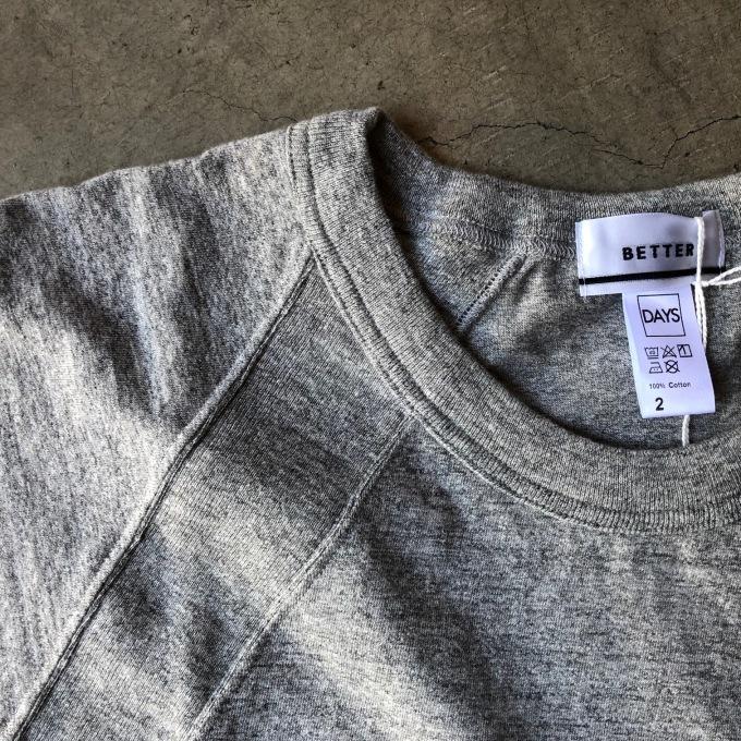 BETTER ラグランパネル Tシャツ_d0334060_16321590.jpg