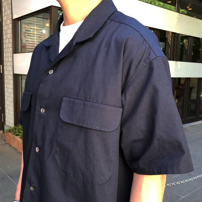 Nigel Cabourn オープンカラーワイドシャツ_b0121563_13582453.jpg