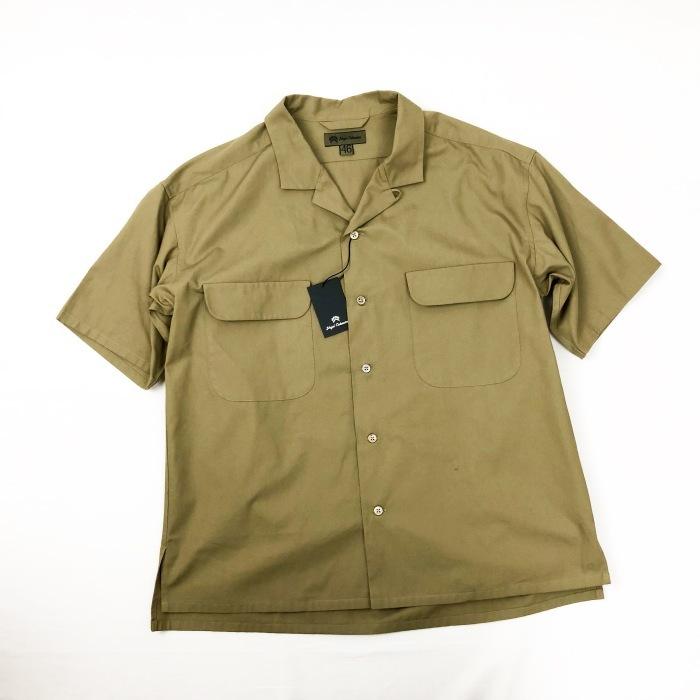 Nigel Cabourn オープンカラーワイドシャツ_b0121563_13583406.jpg