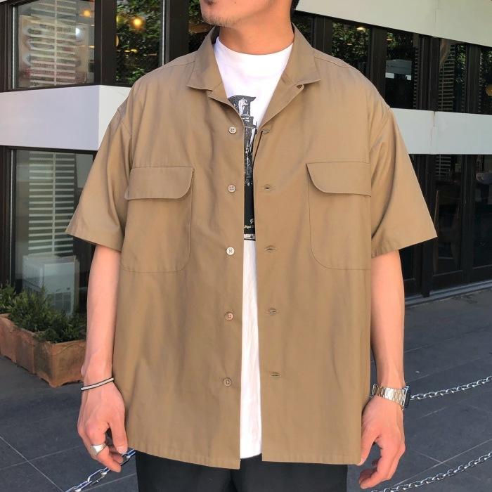 Nigel Cabourn オープンカラーワイドシャツ_b0121563_14115402.jpg