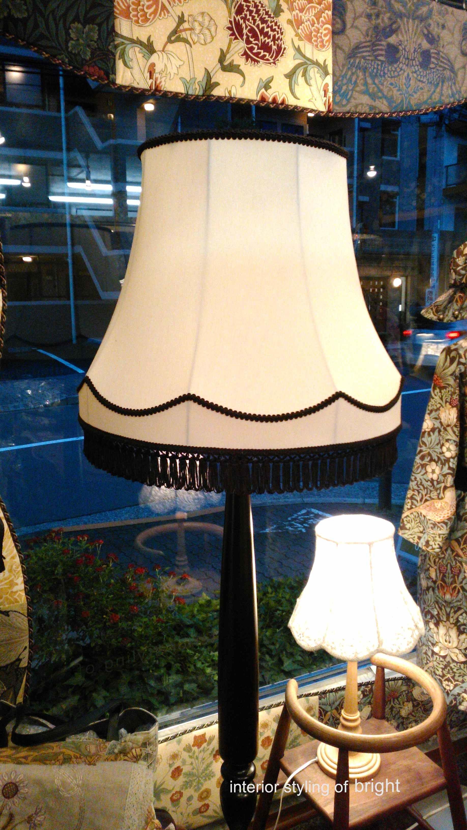 ランプシェード 張替 ウィリアムモリス正規販売店のブライト_c0157866_18095525.jpg