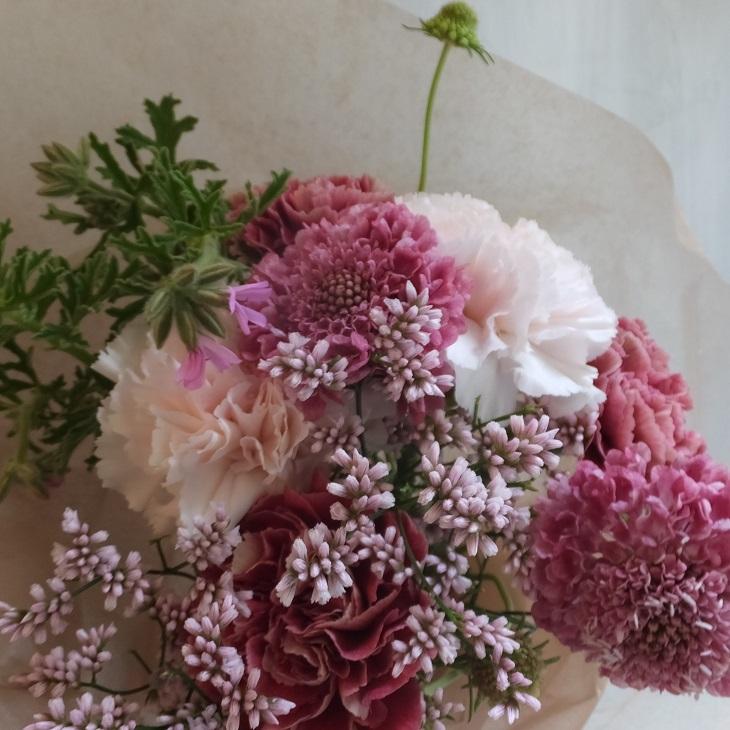オークリーフ(母の日の花束)_f0049672_21054026.jpg