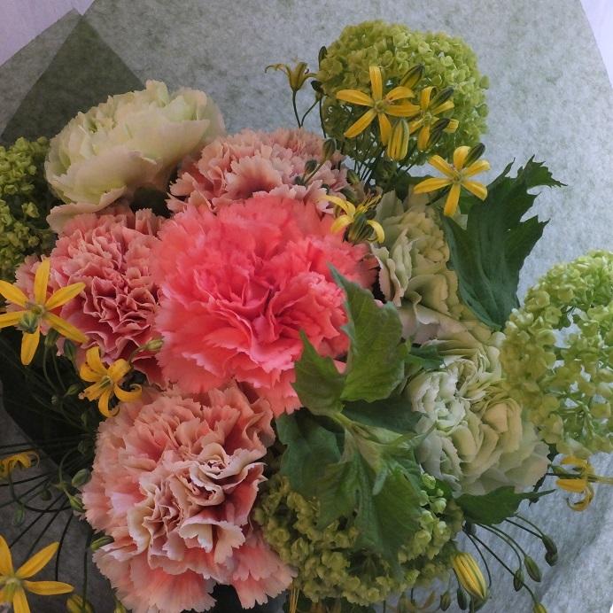 オークリーフ(母の日の花束)_f0049672_21060010.jpg